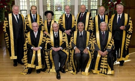 The 11 judges sworn in for the new supreme court