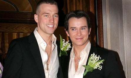 Andrew Cowles and Stephen Gately