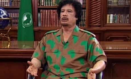 Gaddafi Sky News interview