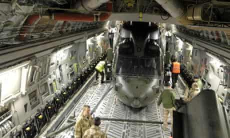 Merlin helicopters sent to Afghanistan