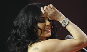 Haifa Wehbe, one of the Middle East's biggest pop stars
