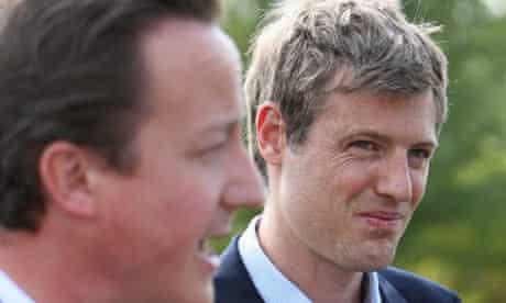 David Cameron and Zac Goldsmith