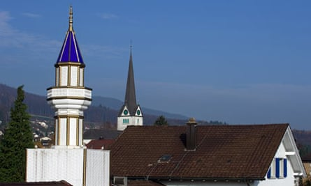 One of only four minarets in Switzerland