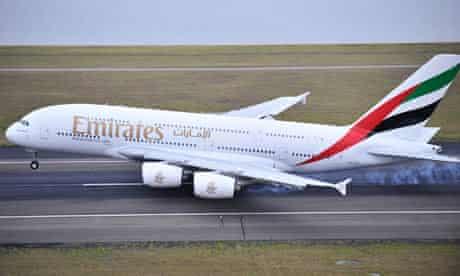 Emirates airliner