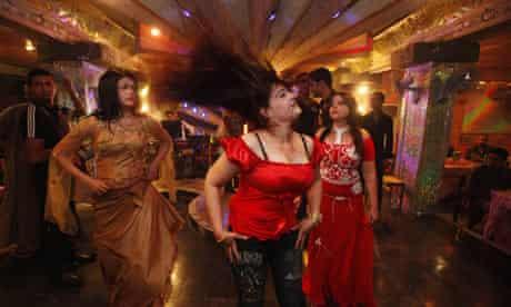 Dancers perform in Baghdad