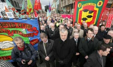 Belfast silent protest