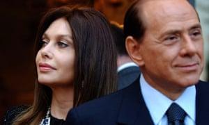 Silvio Berlusconi and Veronica Lario