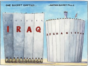 01.05.09: Steve Bell on the end of British operations in Iraq