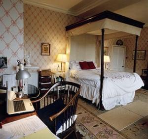 Miranda Seymour's writers' room.