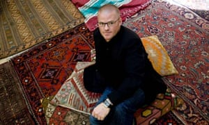 Heston Blumenthal in the G2 yurt