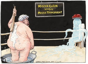 11.06.09 Steve Bell on Brown and Cameron