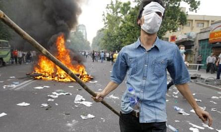 Tehran riots