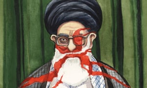 25.06.09: Steve Bell on Iran and the death of Neda Soltan