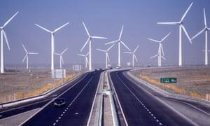 Windfarm in China