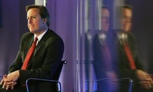 David Cameron listens