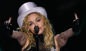 Madonna performs in Bucharest
