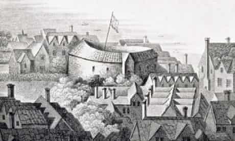 The First Globe Theatre or Rose Theatre