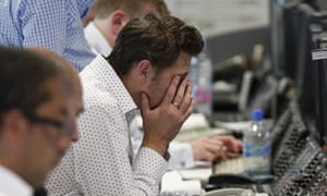 A tough day for brokers