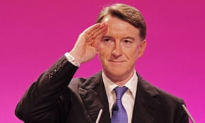 Peter Mandelson at the 2009 Labour conference