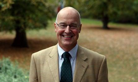 Professor Andrew Hamilton, Oxford University's new vice-chancellor