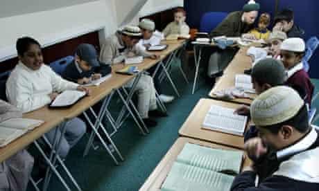 Teaching in UK madrassas