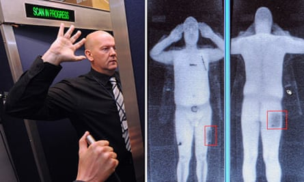Airport body scanner