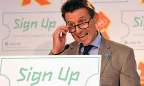 Seb Coe 2012 ticket announcement