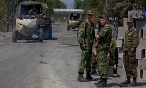 Russian troops in Georgia