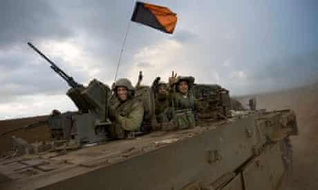 Israeli soldiers return from Gaza