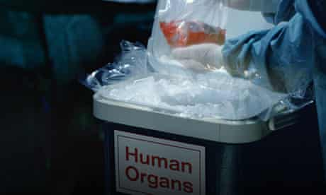 Human organ donations
