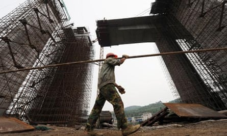 Construction site in Guiyang