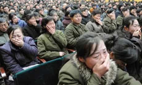 North Koreans lament the death of Kim Jong-il
