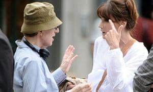 Woody Allen and Carla Bruni