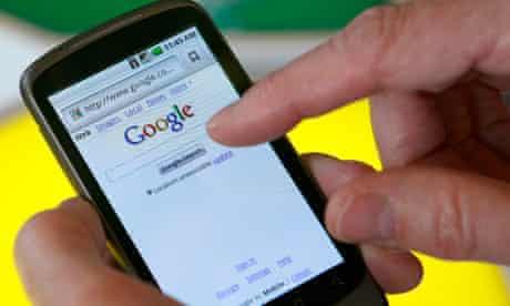 Nexus One smartphone