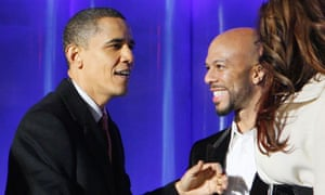 Barack Obama and Common