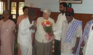 Sister Jean in Bengaluru, India