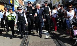 Boris Johnson vists Croydon