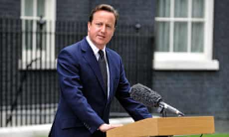 David Cameron riots statement