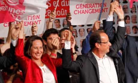 Ségolène Royal and François Hollande
