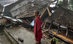 Earthquake Gangtok, India