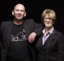 Graham Godden with  Jackie Malton