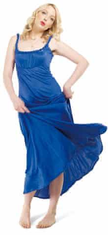 Lauren Laverne blue dress
