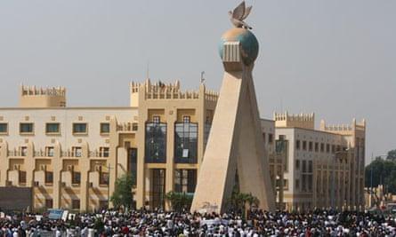 Mali demonstration