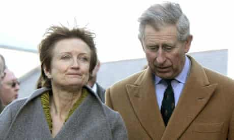 Tessa Jowell and Prince Charles in 2006
