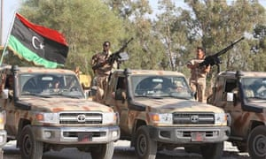 Libyan   force   deployment to Bani Walid clashes