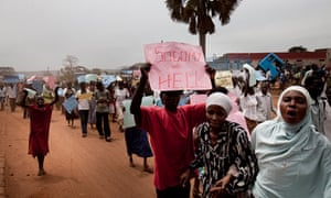 Anti-homosexual march in Uganda