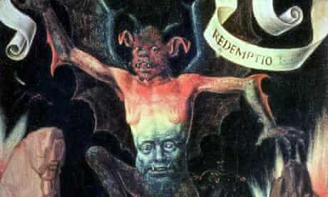 10 best scary paintings: Hell by Hemling