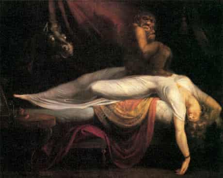10 best scary paintings: Henry Fuseli: The Nightmare
