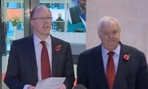George Entwistle resigns