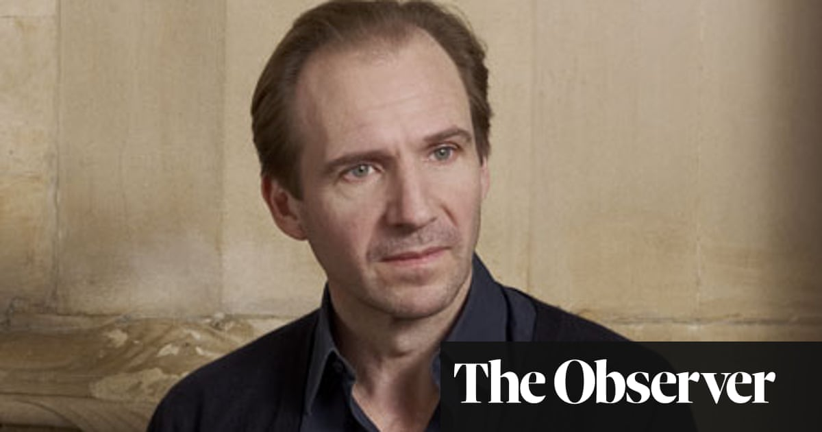 Ralph Fiennes: 'I get angry easily' | Film | The Guardian